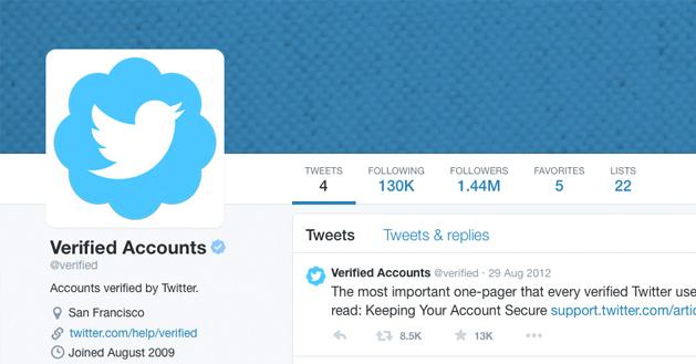 Make a legit twitter profile