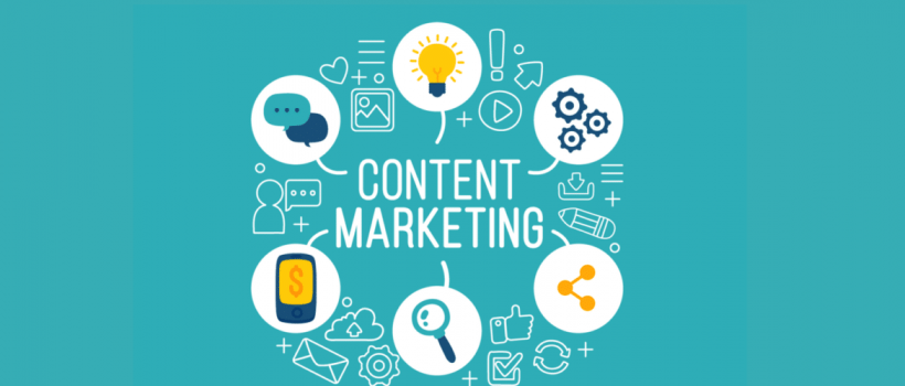 """The 4 steps of content marketing """"K.I.S.S"""" principle"""