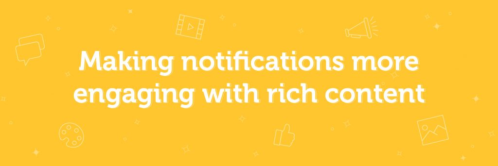 making notifications