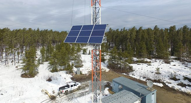 Use Of Solar Power In Telecommunication Systems