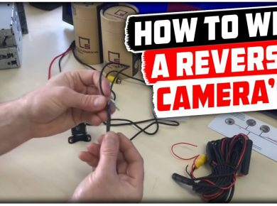 How to wire a reversing camera to reverse light