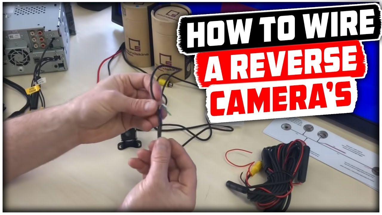 How to Wire a Reversing Camera to Reverse Light?